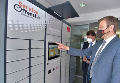 Bürgerservices der Stadt Nürnberg in Geschäftsstellen der Sparkasse Nürnberg