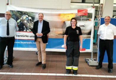 Claudia Herzog erste Stadtbrandrätin Bayerns
